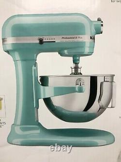 Kitchenaid Kp25m0xaq Professional 5 Plus 5 Quart Stand Mixer Aqua Sky Nouveau