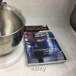 Kitchenaid Kp2671xwh Professional 6 Pintes Batteur Sur Socle, Blanc