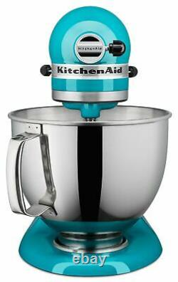 Kitchenaid Ksm150pson Stand Mixer, 5 Litres, Ocean Drive