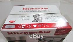 Kitchenaid Ksm75sl Mixer Silver 4,5 Pintes