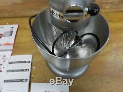 Kitchenaid Ksm95cu Support De Tête Inclinable De 4,5 Pintes Contour Silver, Série Ultra