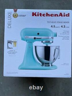 Kitchenaid Ksm97mi Deluxe 4.5-quart Tilt Head Stand Mixer Dark Pewter Brand Nouveau