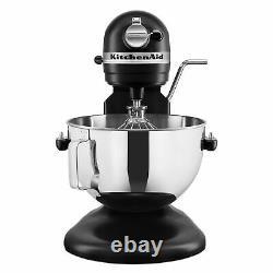 Kitchenaid Pro 5 Plus 5 Quart Bowl-lift Stand Mixer Onyx Black New Ships Now