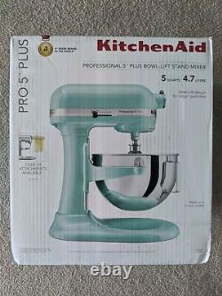 Kitchenaid Pro 5 Plus Kv25g0x Ice Blue 5-quart Bowl-lift Stand Mixer (flambant Nouveau)