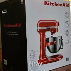 Kitchenaid Pro 600 Series 6-quart Bowl Lift Stand Mixer Dans Empire Red 590 Watt