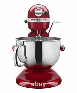 Kitchenaid Professional 5 Plus Série 5 Quart Bowl-lift Stand Mixer Kv25g0x Rouge