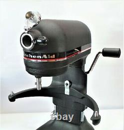 Kitchenaid Professional 6 10 Speed 6 Quart Bowl Lift Stand Mixer Couleur Satin Bk