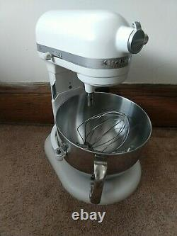 Kitchenaid Professional 600 Series 6 Quart Bowl-lift Stand Mixer White Kp26m1xr