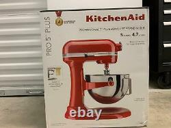 Kitchenaid Professional Artisan 5-quart Bowl Lift Stand Mixer Empire Red New