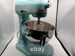 Kitchenaid Professional Plus 5 Quart Bowl-lift Stand Mixer Aqua Sky Kp25m0xaq