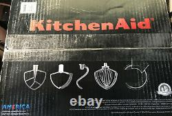 Kitchenaid Professional Series 6 Quart Bowl Lift Stand Mixer Avec Flex Edge Red