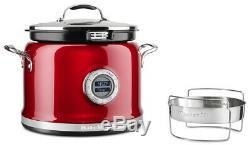 Kitchenaid Réformé 4 Pintes Multi-cooker Candy Apple Red