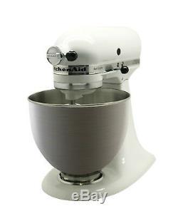 Kitchenaid Rk150wh Batteur Sur Socle Série Artisan De 5 Pintes, Blanc
