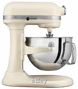Kitchenaid Rkp26m1xfl Professional 600 Mixer Stand 6 Quarts Matte Frais Linge