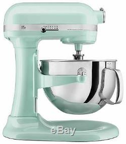 Kitchenaid Rkp26m1xic Professional 600 Mixer Stand 6 Quarts Couleur Glace Refurbished