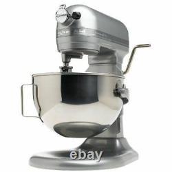Kitchenaid Stand Mixer 475 - W 10-speed 5-quart Kg25hoxsl Silver Professional Hd