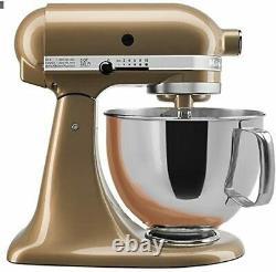 Kitchenaid Stand Mixer Tilt Head 5-quart Rrk150cz Champagne Or