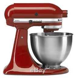 Kitchenaid Tilt Mixer Tilt 4.5-quart Ksm8 Tout En Métal Beaucoup De Couleurs