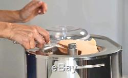Lello 4080 Musso Lussino 1,5 Pintes Ice Cream Maker, Inoxydable