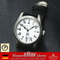 Livraison Gratuite Aristo Messerschmitt Quarts Me-401b Montre Fabriqué En Allemagne