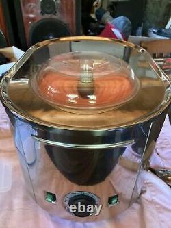 Machine À Crème Glacée Musso Lussino # 4080 1.5 Quarts