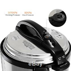 Marmite De Cuisson Lente Multifonctionnelle Électrique 1200 W Cuisinière À Pression Électrique 12 W