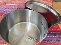 Mauviel Made In France M150s 6110,17 Copper Me Heritage 3,5 Pintes Casserole Esprit