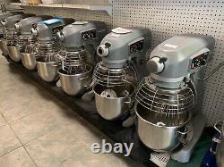 Mélangeur Hobart Hl200 20 Quart Legacy Mixer Avec 20 Qt Bowl, 120v- Attache Whip