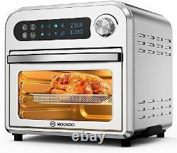 Moosoo 10.6 Quart Fryer Électrique Sans Huile Four Déshydratant Rotisserie 1500w