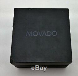 Movado 07.1.14.1145 Museum Swiss Montre Homme En Acier Inoxydable 42mm Nice
