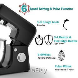 Multifonctionnel Batteur Blender Hachoir À Viande Saucisse Maker Avec 7quart Bowl