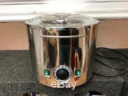 Musso Lussino L1 Acier Inoxydable Machine À Crème Glacée À Poser
