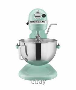 Navires Fast Kitchenaid Kv25g0x 5-quart Professional Standalone Mixer Ice Blue