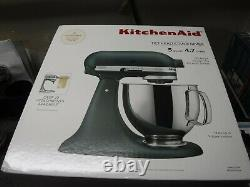 New Kitchenaid 5 Quart Tilt-head Stand Mixer, Palme À Galets (ksm150pstpp)