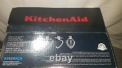 New Kitchenaid Deluxe 4.5 Quart Tilt-head Mélangeur D'eau Minérale Bleu Ksm97mi