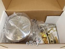 Nib 280 $ All-clad D5 Cuivre Core 2 Pintes Casserole Avec Couvercle