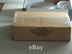 Nib 350 $ All-clad D3 Prime Tri-ply 18/10 6 Pintes Sauteuse Inoxydable Avec Couvercle