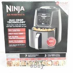 Ninja Af161 Max XL Air Fryer, 5.5-quart, Livraison Gratuite Grise