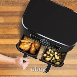 Ninja Dz100 Foodi 4-en-1 2-basket Air Fryer Dualzone Technology, 8-quart Dz201