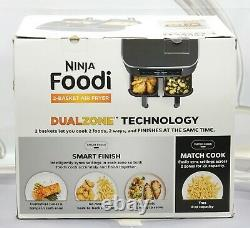 Ninja Dz201 Foodi 6-en-1 2-basket Air Fryer Dualzone Technology 8 Quart Nouveau