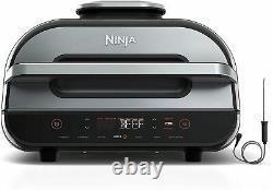 Ninja Fg551 Foodi Smart XL Capacité 6-en-1 Grill Intérieur Avec Friteuse D'air 4-quart