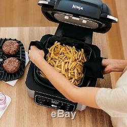 Ninja Foodi 4-en-1 Grill Intérieur Avec Du 4-quart Air Fryer Rôti, Cuire Au Four. Nouveau