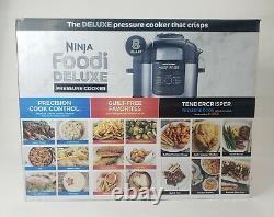 Ninja Foodi 8 Quart 9-en-1 Cuisinière À Pression Deluxe + Friteuse D'air Fd402