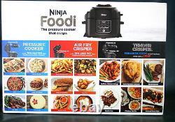 Ninja Foodi Tendercrisp 8-en-1 6,5 Pintes Autocuiseur Noir Op300