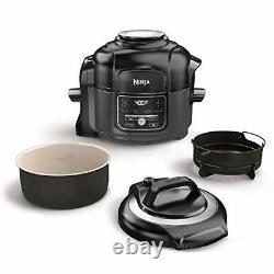 Ninja Op101 Foodi 7-en-1 Pression, Mijoteuse, Air Fryer Et Plus, 5 Pintes Nouveau