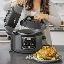 Ninja Op302 Foodi 9 En 1 Slow Cooker Tender Pression De Crise 6,5 Quart
