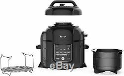 Ninja Op401 Foodi Pression 8 Pintes, Vapeur, Air Fryer Tout-en-un Multi-cooker
