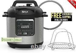 Ninja Pc101 Pc100 Instant 1000w 6-quart Pression Slow Multi Cooker Steamer -nouveau