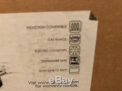 Nouveau Dans La Boîte Tout Clad En Acier Inoxydable 20 Qt Quart Rondeau Pot Stock Professional