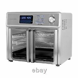 Nouveau Kalorik 26-qt. Digital Maxx Air Fryer Grille-pain Four Afo 46045 Ss 26 Quart